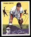 1934 Goudey Reprint #17  Hugh Critz  Front Thumbnail