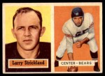 1957 Topps #105  Larry Strickland  Front Thumbnail