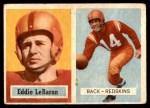 1957 Topps #1  Eddie LeBaron  Front Thumbnail