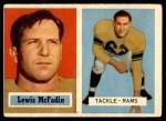1957 Topps #108  Lewis McFadin  Front Thumbnail