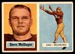 1957 Topps #89  Steve Meilinger  Front Thumbnail