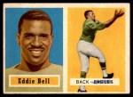 1957 Topps #99  Eddie Bell  Front Thumbnail