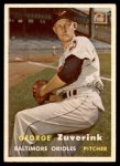 1957 Topps #11  George Zuverink  Front Thumbnail