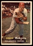 1957 Topps #15  Robin Roberts  Front Thumbnail