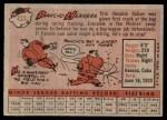 1958 Topps #433 COR Pancho Herrera  Back Thumbnail