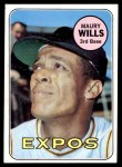 1969 Topps #45  Maury Wills  Front Thumbnail
