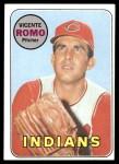 1969 Topps #267  Vincente Romo  Front Thumbnail