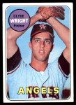 1969 Topps #583  Clyde Wright  Front Thumbnail