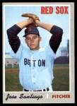 1970 Topps #708  Jose Santiago  Front Thumbnail