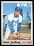 1970 Topps #471  Chris Zachary  Front Thumbnail