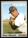 1970 Topps #179  Ivan Murrell  Front Thumbnail