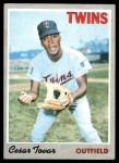 1970 Topps #25  Cesar Tovar  Front Thumbnail