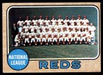 1968 Topps #574   Reds Team Front Thumbnail