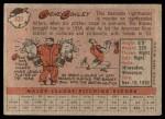 1958 Topps #431  Gene Conley  Back Thumbnail