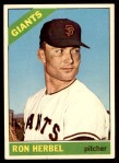 1966 Topps #331  Ron Herbel  Front Thumbnail