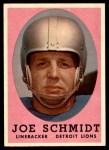 1958 Topps #3  Joe Schmidt  Front Thumbnail