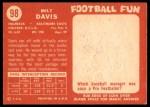 1958 Topps #98  Milt Davis  Back Thumbnail