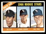 1966 Topps #529   -  Lee Elia / Dennis Higgins / Bill  Voss White Sox Rookies Front Thumbnail