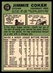 1967 Topps #158  Jim Coker  Back Thumbnail