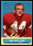 1963 Topps #147  John David Crow  Front Thumbnail