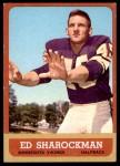 1963 Topps #105  Ed Sharockman  Front Thumbnail