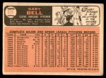 1966 Topps #525  Gary Bell  Back Thumbnail