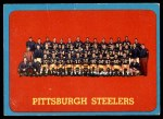 1963 Topps #133   Steelers Team Front Thumbnail