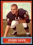 1963 Topps #65  Roger Davis  Front Thumbnail