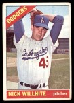 1966 Topps #171  Nick Willhite  Front Thumbnail