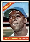 1966 Topps #13  Lou Johnson  Front Thumbnail