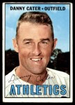 1967 Topps #157  Danny Cater  Front Thumbnail
