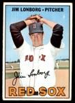 1967 Topps #371  Jim Lonborg  Front Thumbnail