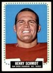 1964 Topps #172  Henry Schmidt  Front Thumbnail