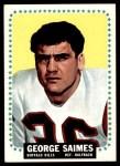 1964 Topps #36  George Saimes  Front Thumbnail