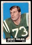 1964 Topps #123  Gerry Philbin  Front Thumbnail