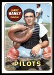 1969 Topps #209  Larry Haney  Front Thumbnail