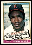1976 Topps Traded #380 T Bobby Bonds  Front Thumbnail