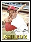 1967 Topps #126  Tony Taylor  Front Thumbnail