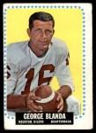 1964 Topps #68  George Blanda  Front Thumbnail