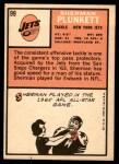 1966 Topps #99  Sherman Plunkett  Back Thumbnail