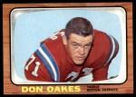 1966 Topps #11  Don Oakes  Front Thumbnail
