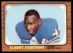 1966 Topps #23  Elbert Dubenion  Front Thumbnail