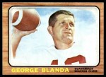 1966 Topps #48  George Blanda  Front Thumbnail