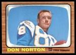 1966 Topps #129  Don Norton  Front Thumbnail