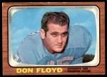 1966 Topps #54  Don Floyd  Front Thumbnail