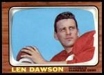 1966 Topps #67  Len Dawson  Front Thumbnail