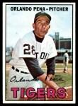1967 Topps #449  Orlando Pena  Front Thumbnail