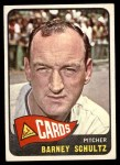 1965 Topps #28  Barney Schultz  Front Thumbnail