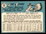 1965 Topps #200  Joe Torre  Back Thumbnail