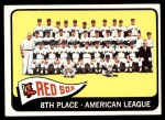 1965 Topps #403   Red Sox Team Front Thumbnail